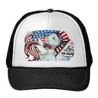 Patriotic Westie Trucker Hat