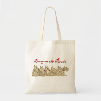 Patriotic Wheaten Scottish Terriers Tote Bags