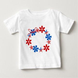 Patriotic Wreath Baby T-Shirt