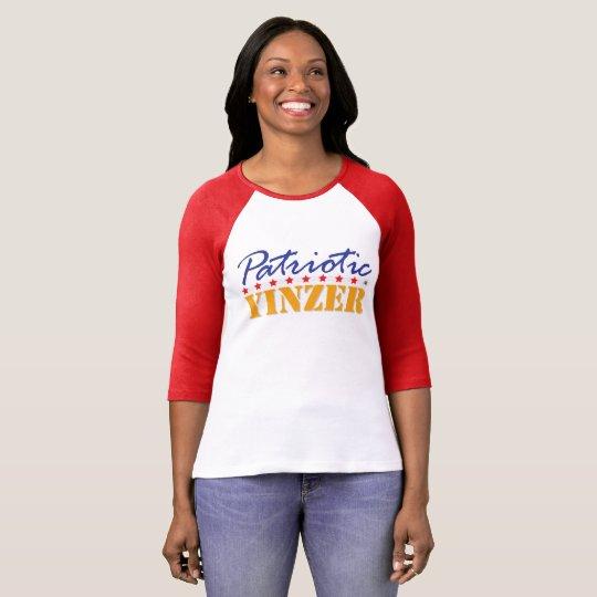 Patriotic Yinzer Design T-Shirt