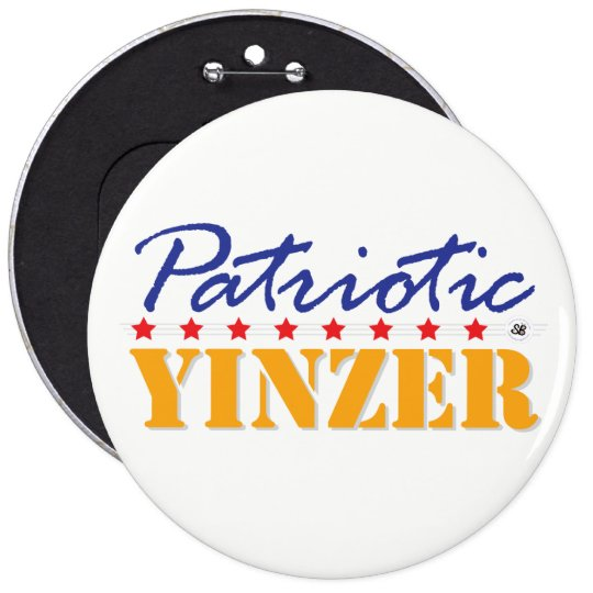 Patriotic Yinzer Mega Yinz Pin