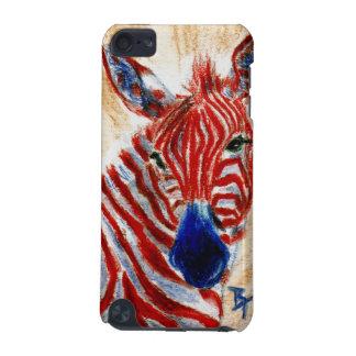 Patriotic Zebra IPod Touch Case