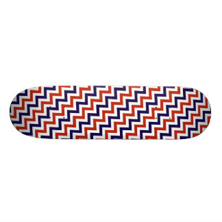 Patriotic Zigs & Zags 21.6 Cm Skateboard Deck