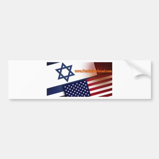 Patriots for Israel Bumper Sticker
