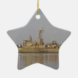 Patrol Boat Ceramic Star Decoration