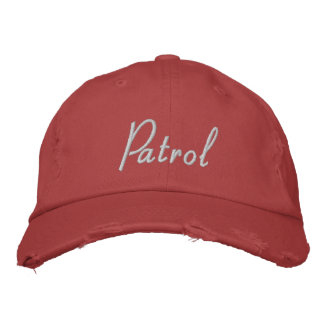 Patrol Hat - Style Two Embroidered Hats