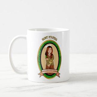 Patron Saint against anxiety disorders prayer mug
