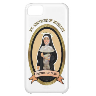 Patron Saint of Cats Iphone case Cover For iPhone 5C