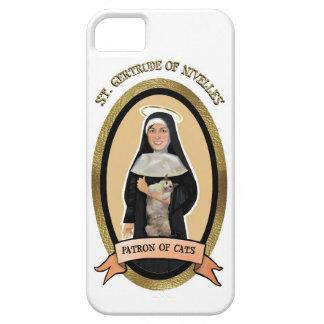 Patron Saint of Cats Iphone case iPhone 5 Cases