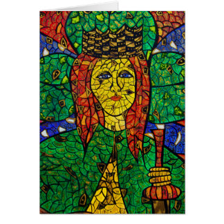 Patron Saint Of Depression And Anxiety St Dymphna Card