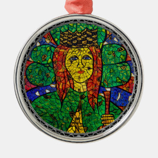 Patron Saint Of Depression And Anxiety St Dymphna Christmas Ornament