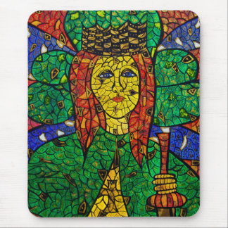 Patron Saint Of Depression And Anxiety St Dymphna Mouse Mat