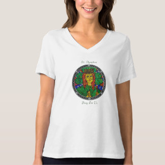 Patron Saint Of Depression And Anxiety St Dymphna T-Shirt
