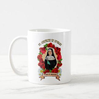 Patron Saint of Gardening icon mug