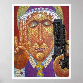 Patron Saint of Gun Control Poster