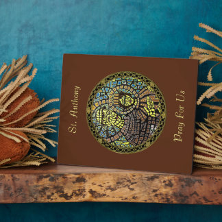 Patron Saint Of Lost Items St. Anthony Plaque