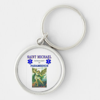 PATRON SAINT OF PARAMEDICS KEY RING