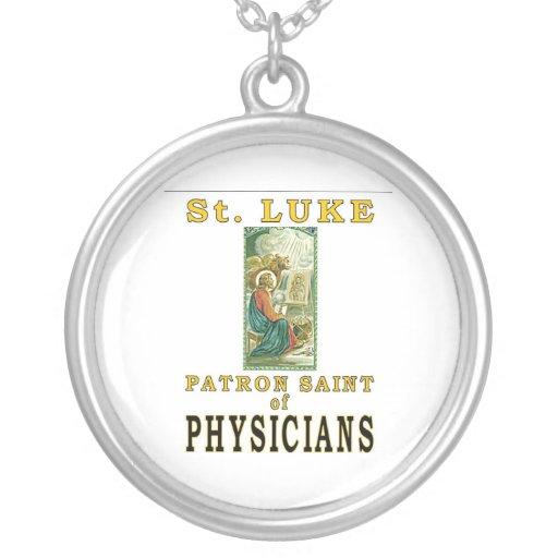PATRON SAINT PHYSICIANS ST. LUKE CUSTOM NECKLACE