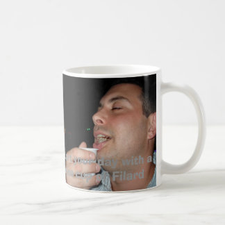 Patron, Start your day with a nice cup of Filard Basic White Mug