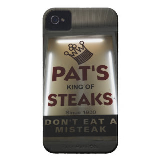 Pat's king of Steak's Case-Mate iPhone 4 Cases