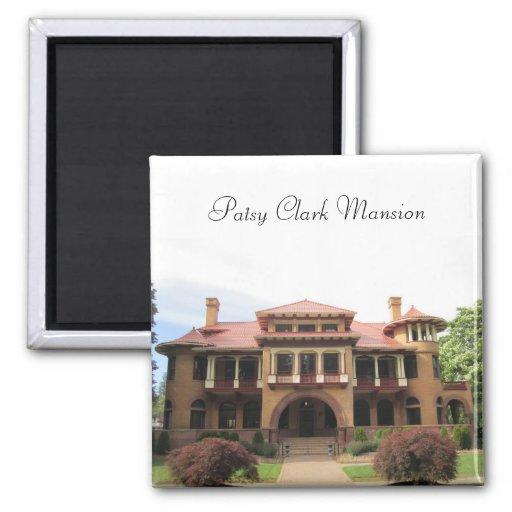 Patsy Clark Mansion Fridge Magnet
