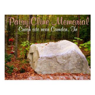 Patsy Cline Memorial - Camden, TN Postcard