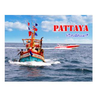 Pattaya - Thailand Postcard