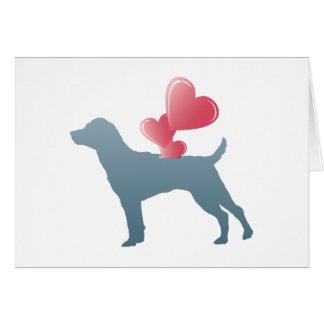 Patterdale Terrier Greeting Card