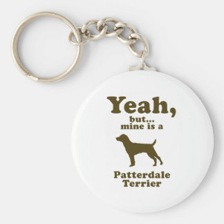Patterdale Terrier Key Ring