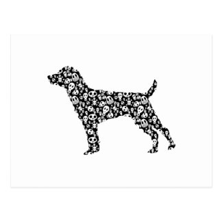 Patterdale Terrier Postcard