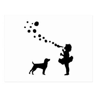 Patterdale Terrier Postcard