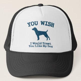 Patterdale Terrier Trucker Hat