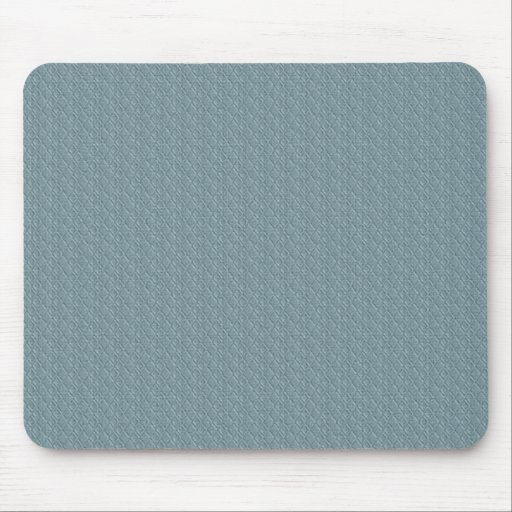 pattern11 EMBOSSED ARGYLE SOFT BLUE CLOTH PATTERN Mouse Pads