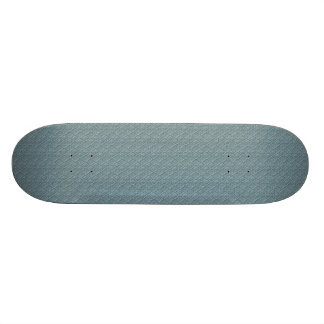 pattern11 EMBOSSED ARGYLE SOFT BLUE CLOTH PATTERN Skate Board Deck