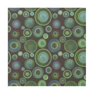 """Pattern 12""""x12"""" Wood Wall Art Wood Print"""