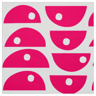 Pattern 220816 - Neon Red and White Fabric