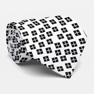 Pattern 270715 - Black and White Tie