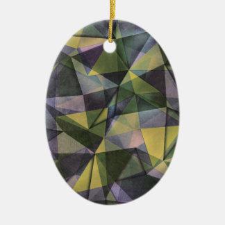 pattern 2 ceramic oval decoration