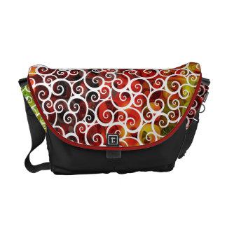 Pattern 6 Messenger Bag