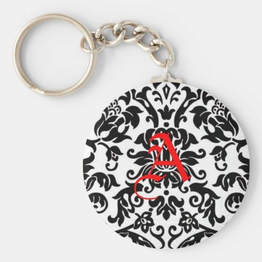 pattern, A Basic Round Button Key Ring