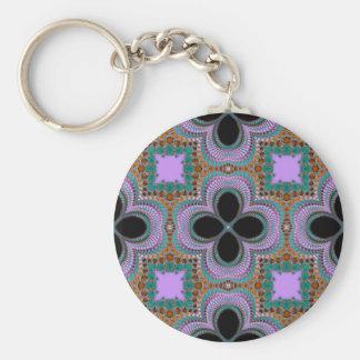 Pattern Abstract Design Keychain