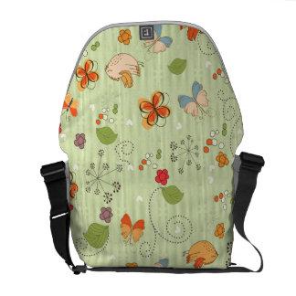 Pattern Art 38 Messenger Bag Options