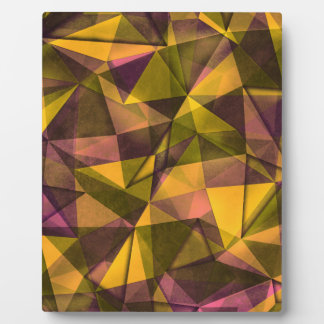 pattern art plaque