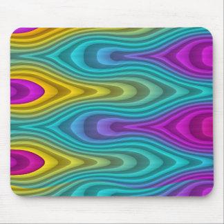 Pattern ARTs - stripes 3D coloured 19 Mouse Pad
