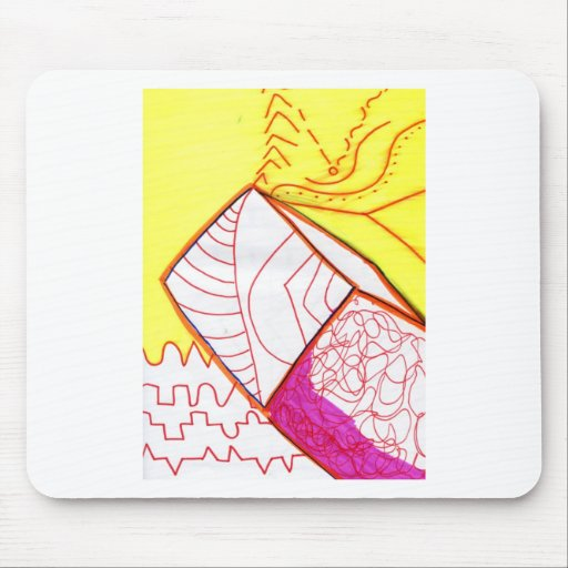 Pattern Augment in Study Mousepad