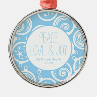 Pattern background with Christmas-tree Christmas Ornament