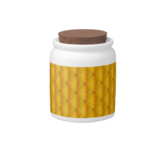 Pattern beige 230 candy jars