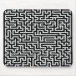 Pattern - Black Mousepads