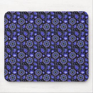 Pattern_Blue_Flower #06 Mousepads