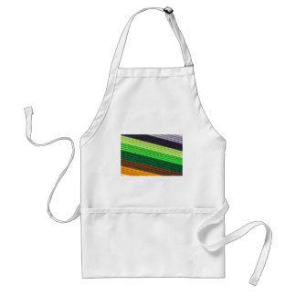 pattern colored paper standard apron